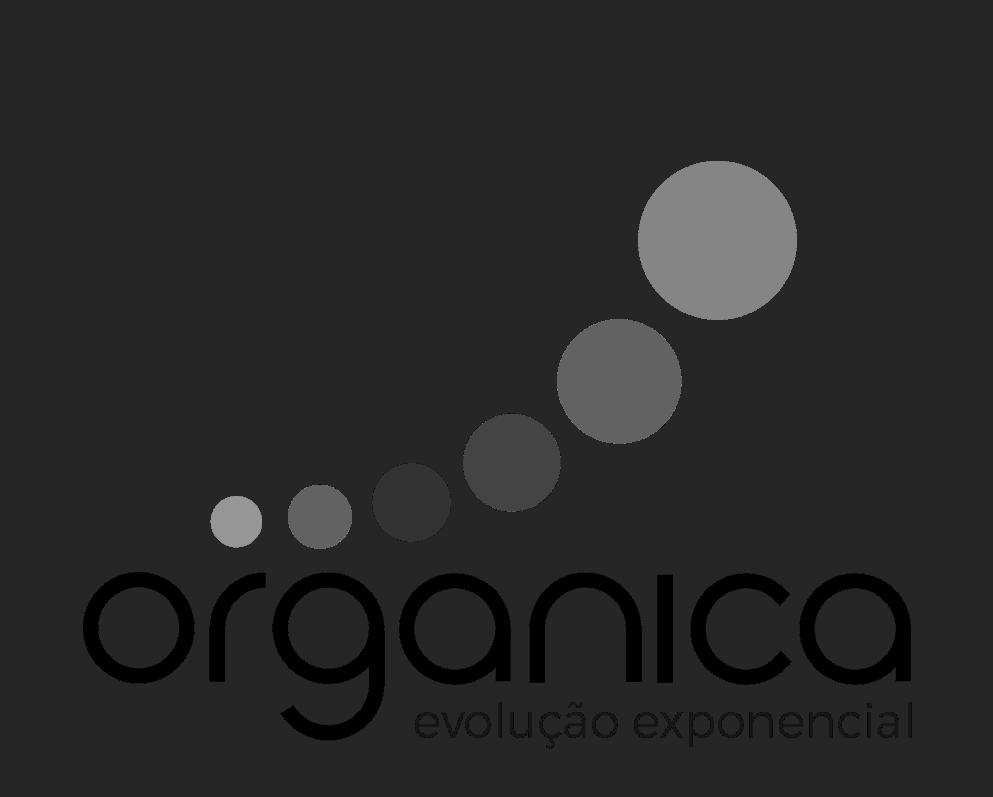 Logo organica preto e branco